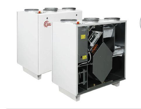 Вентиляционный агрегат с рекуперацией тепла Salda RIS V EKO