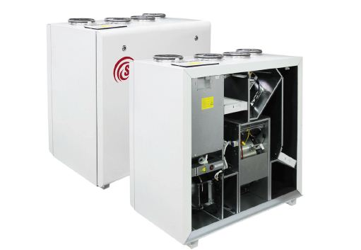 The ventilating unit with recovery of heat of Salda RIRS V EKO