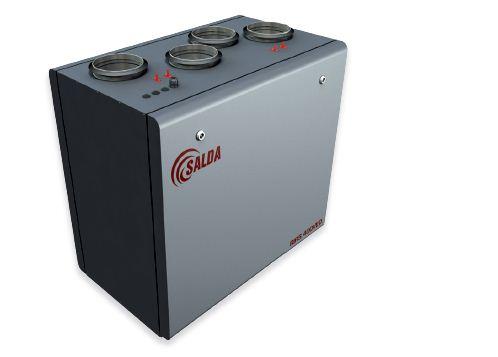 Вентиляционный агрегат с рекуперацией тепла Salda RIRS V, АГРЕГАТЫ ВЕНТИЛЯЦИОННО-ВЫТЯЖНЫЕ