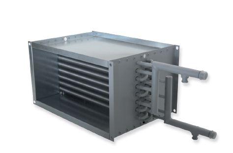 Купить Прямоугольный водяной канальный нагревателиь Salda SVS