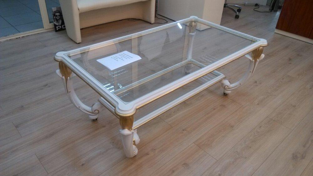Buy Elite carved coffee-table on castors