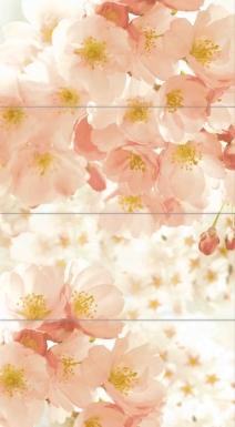 Купить Плитка настенная Nature Blossom Панно 80х44 NT2H012D