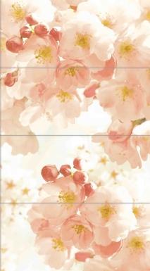 Купить Плитка настенная Nature Blossom Панно 80х44 NT2H013D
