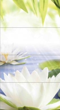 Купить Плитка настенная Nature Lotus Панно 80х44 NT2H022D