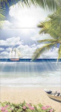 Купить Плитка настенная Nature Paradise Панно 80х44 NT2H452D