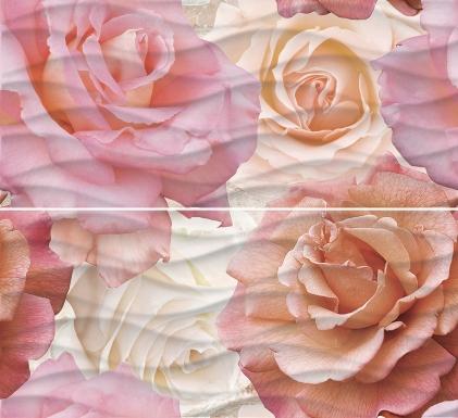 Купить Плитка настенная Wave Roses Панно 40x44 WA2F452DT
