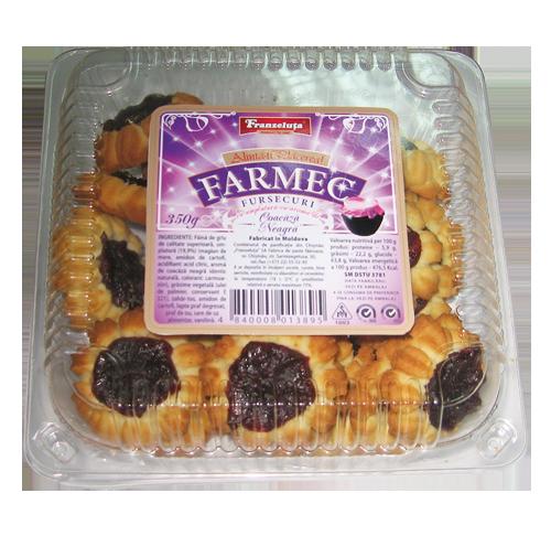 Купить Сдобное печенье Фармек с начинкой со смородиновым ароматом