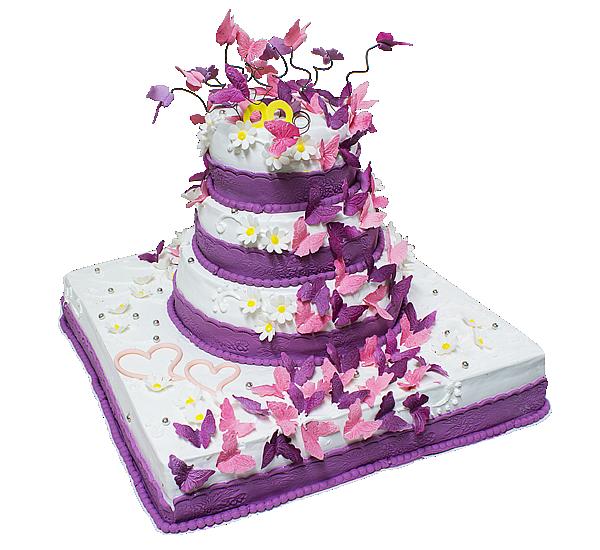 Купить Свадебный торт 01