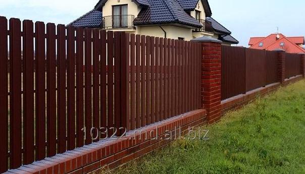 Купить Панельный сварной забор, штакетный металлический забор