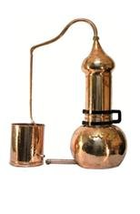 Buy Alambik on 100 liters with a column, manual forging and a staff-wood.