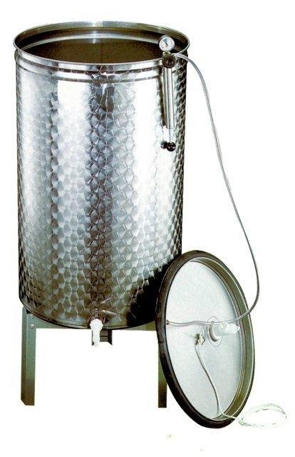 Купить Крышка из нержавеющей стали для ёмкостей,диаметр 540 мм. - вместимостью 150 (низкая)-200 литров