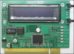 Buy MASTER-KIT BM9222 the Device for repair and testing of POST Card PCI computers