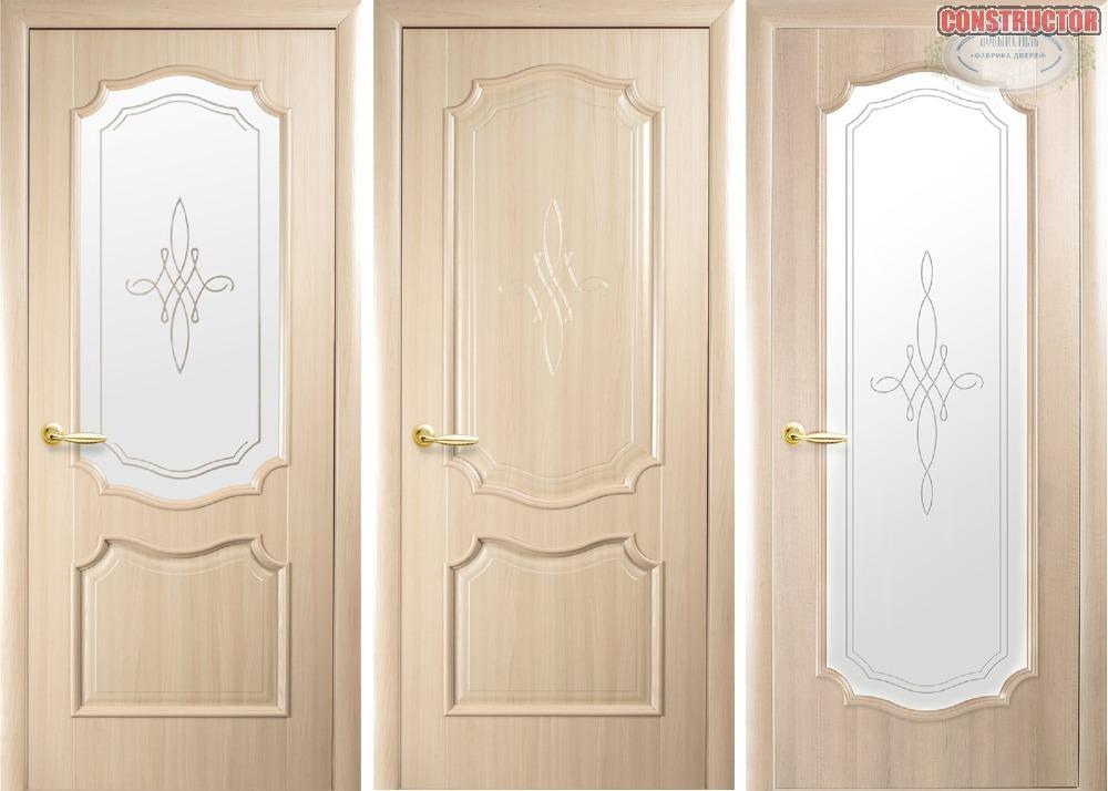 Купить Дверь из бруса Новый стиль Рока ясень