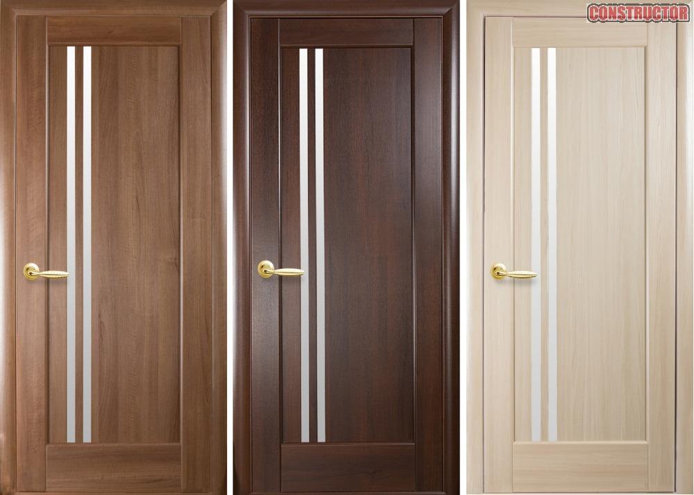 Купить Дверь из бруса Новый стиль Делла ясень