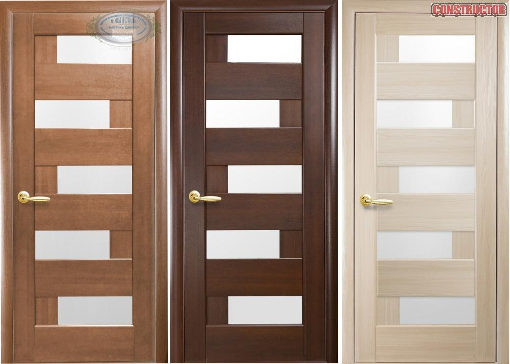 Купить Дверь из бруса Новый стиль Пиана ясень