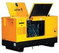 El generador de Diesel GESAN DPAS 35 E MF