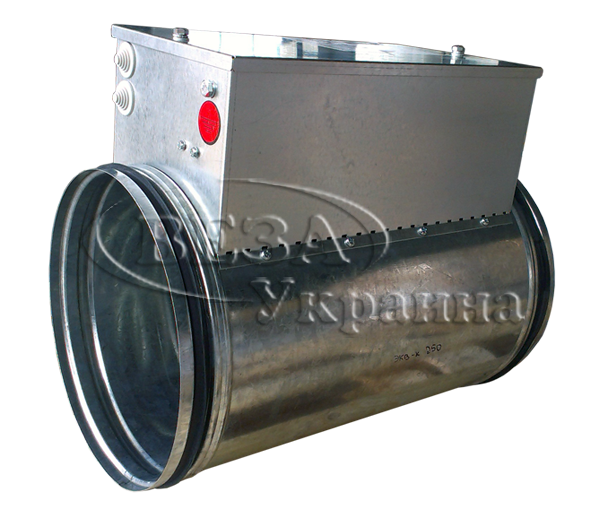 Buy The electric channel air heater for round channels of Kanal-EKV-K