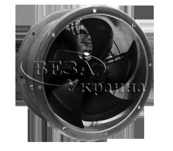 Комплектация осевого канального вентилятора Канал-ОСА-П