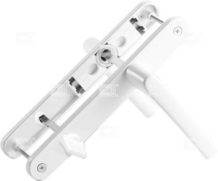Купить Нажимная ручка WC 85мм узкая 28mm с пружиной Mesut