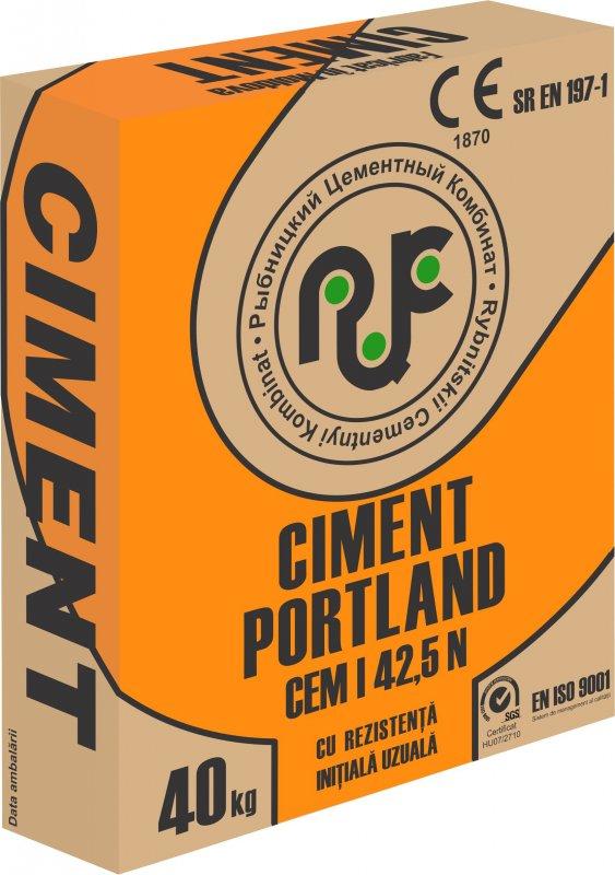 Купить Портландцемент ПЦ500-Д0/CEM I 42,5N тарированный в бумажные мешки по 40 кг