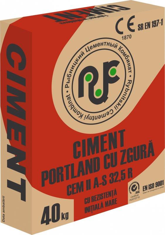 Купить Портландцемент ПЦ400-Д20/CEM II A-S 32,5R тарированный в бумажные мешки по 40 кг