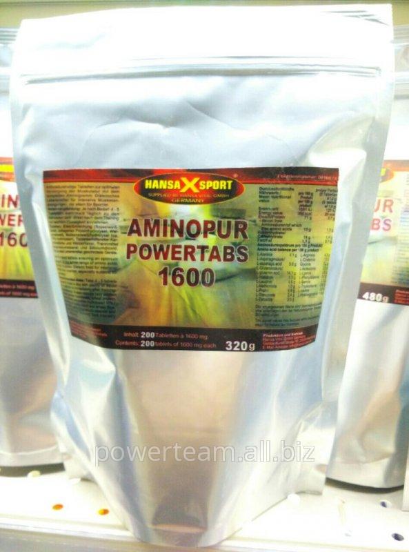 Аминокислота Aminopur Powertabs 1600