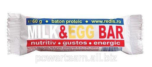 Батончик энергетический Milk&Egg Bar 60 gr