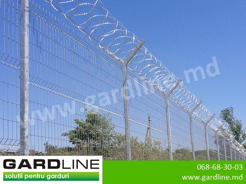 las protecciones metlicas las cercas la red las columnas gard metalic plasa metalica sirma stilpi - Cercas Metalicas