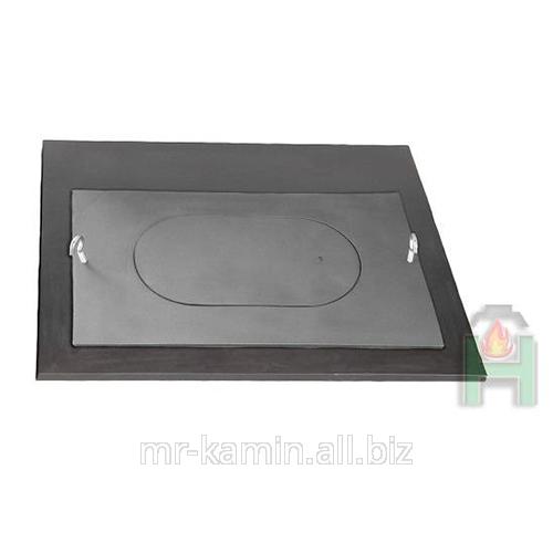 Чугунная плита + крышка с отверстием