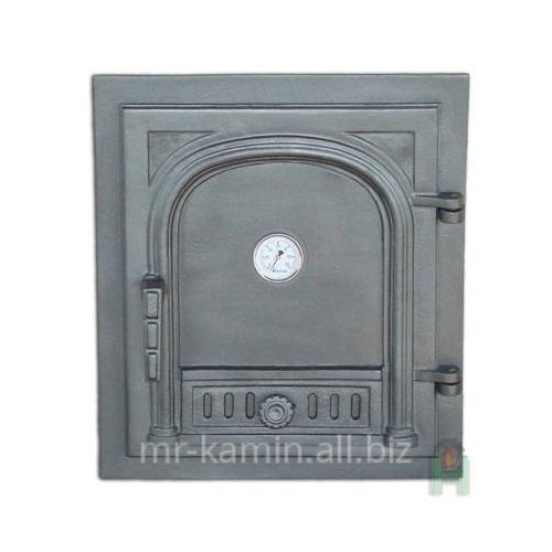 Печная дверка Dw2 450x405 + Termometr