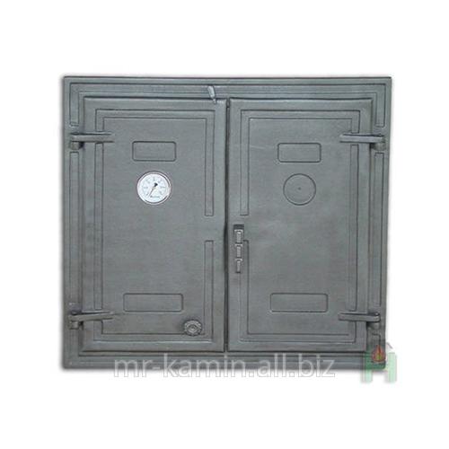 Печная дверка Dw3 725x685 + Termometr