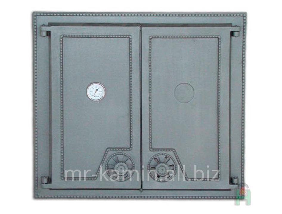 Печная дверка Dw6 640x570 + Termometr