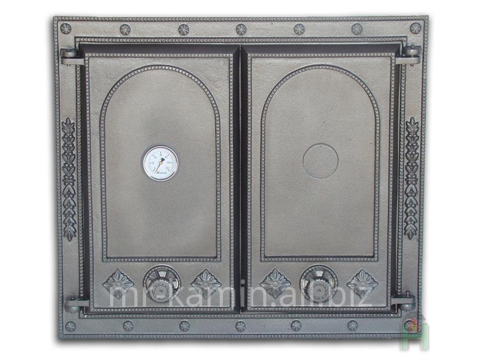 Печная дверка Dw7 625x555 + Termometr