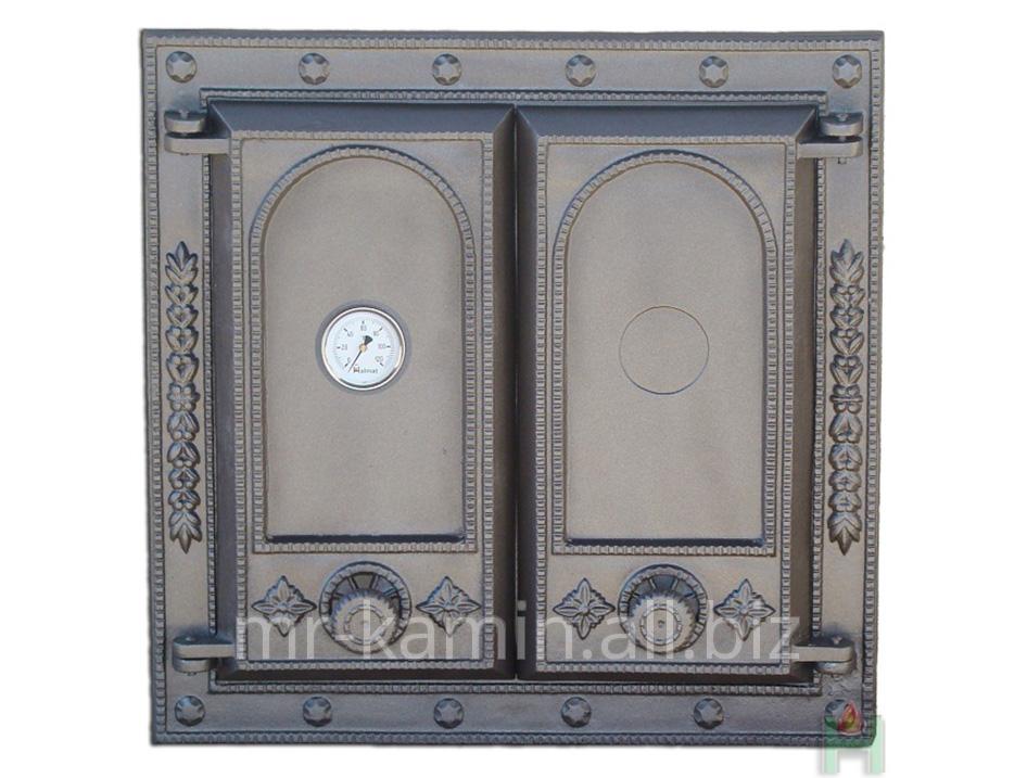 Печная дверка Dw8 475x470 + Termometr