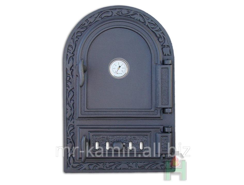 Печная дверка Dw10r 485x325 + Termometr