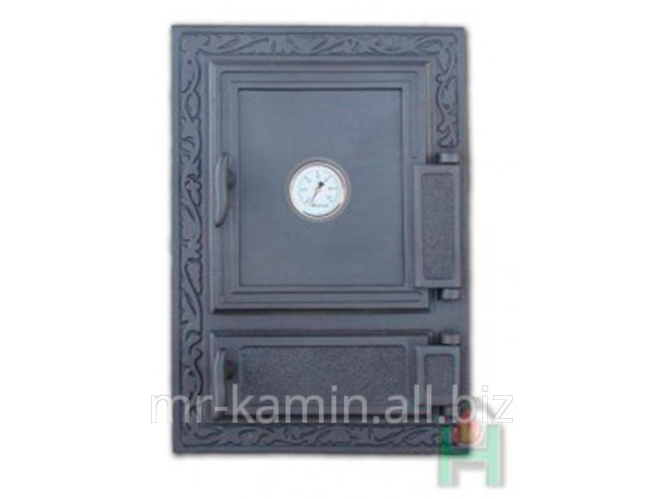 Печная дверка Dw12 475x325 + Termometr