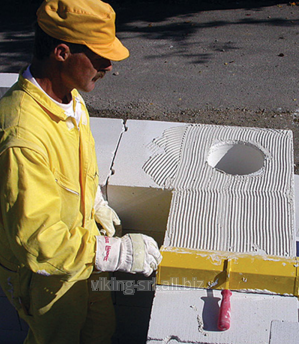 Buy Gas-concrete blocks Au-shaped
