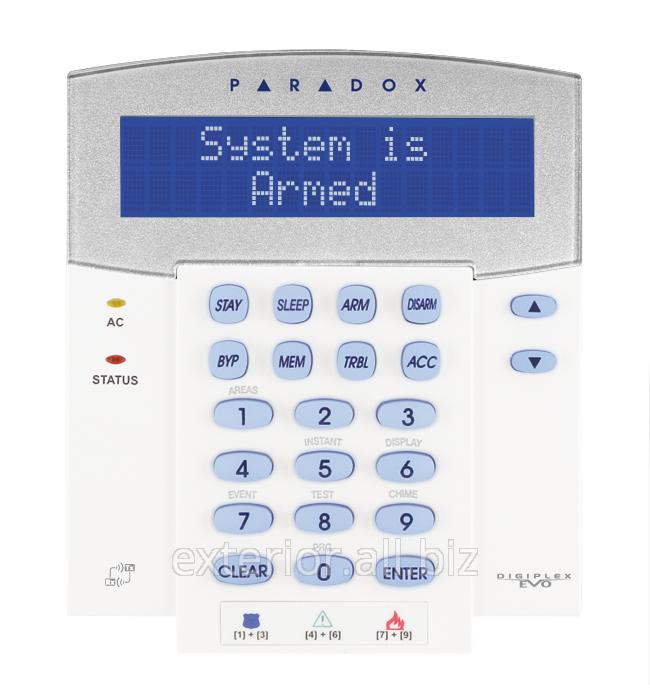 Купить Клавиатура 32-символьная ЖК с встроенным приемопередатчиком Paradox K641RU