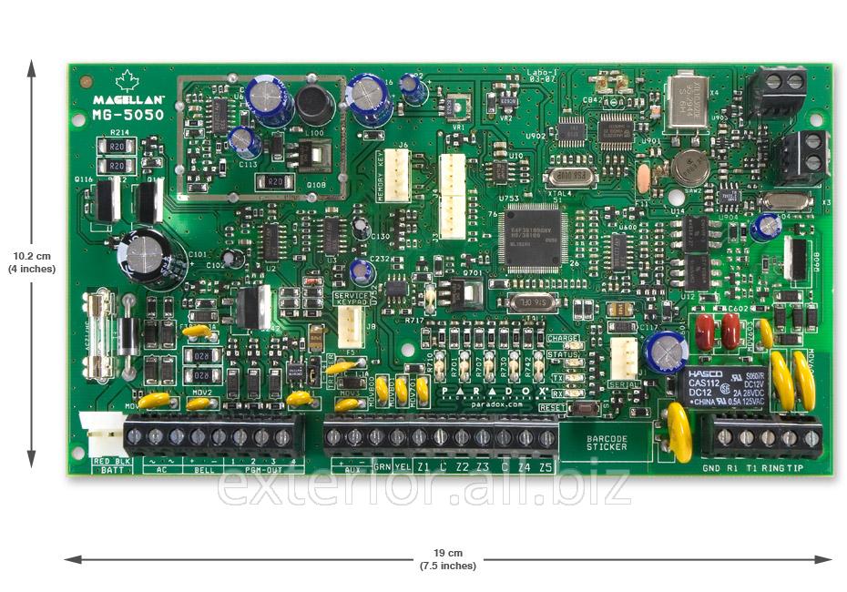 Купить Контрольная панель 32-х зонная с двухсторонней беспроводной связью Paradox MG5050