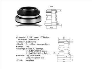 Рулевая колонка ACO - HS40 Integrated (28.6/ 42/ 52/ 39.8mm)