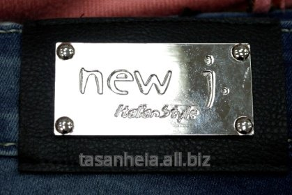 "Фурнитура для одежды с логотипом ""NEW J. ITALIAN STYLE"""