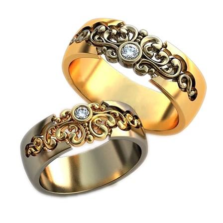 Купить Обручальное кольцо 0201730