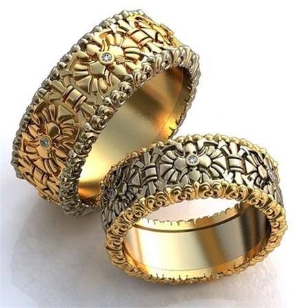Купить Обручальное кольцо 0201740