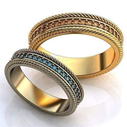 Купить Обручальное кольцо 0201630