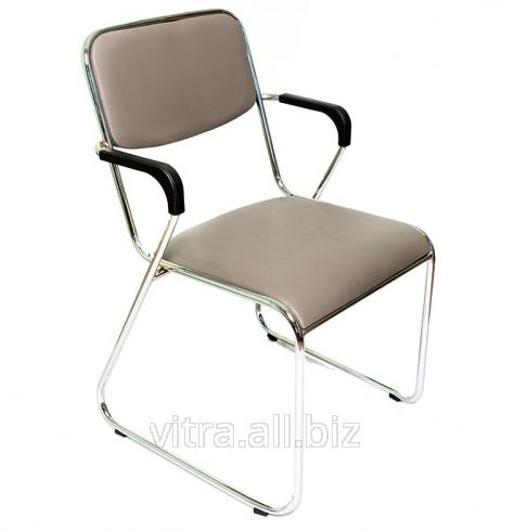 Купить Стул для посетителей стул с подлокотниками (серый) SV-81