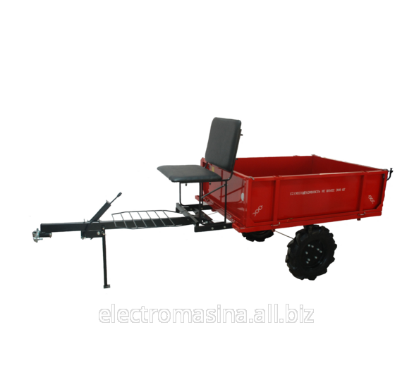 The cart hook-on to motor-blocks of 300 kg. Carts.