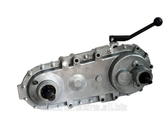 Gear reducer of the motor-block