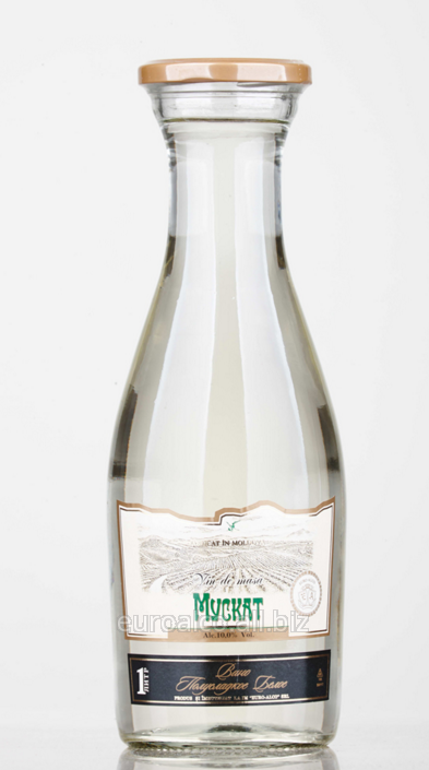 Купить Вино белое полусладкое Twist off Мускат (1,0 л)