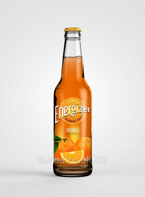 Купить Слабоалкогольный напиток Energizer (orange, lіmon, cherry, berry) 0,33 л