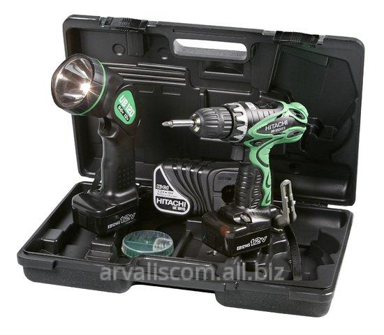 Купить Аккумуляторный шуруповерт HITACHI DS12DVF3